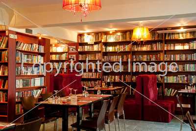 Beijing, CHINA- Interior Design, Dining Room of French Restaurant, Cafe, Library, Lounge, Le Petit Gourmand, Sanlitun Area, 3rd Floor, Tongli Studio