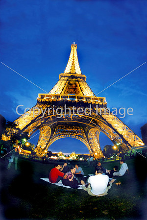 "Paris, France  Monuments ""Stock Photography"""