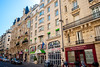 Paris, France, Holiday Inn Hotel, Montmartre, Building Front