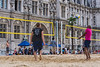 Paris, France, People Enjoying City Beach, Paris Plage, Beach Volleyball,