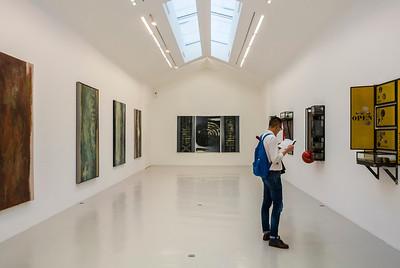 "Paris, France, French Modern Art Gallery, in the Marais Area, Galerie Perrotin, Exhibition, Credit Artist: ""Chen Zhen"""