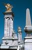 Paris, Alexandre III Bridge, Sculpture