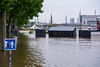 Paris, France,  CIty Scenes, Unusual Weather Conditions, Flooding on Seine River Near Bercy, 3 June 2016