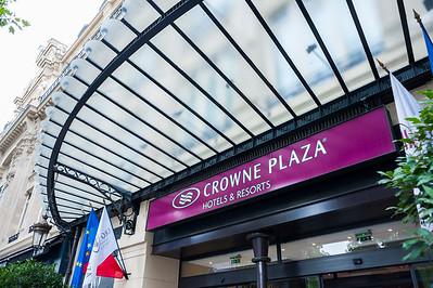Paris, France, Interior, Crown Plaza Hotel, Place de la République