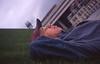 005  Ferrij rust uit op het grasdak