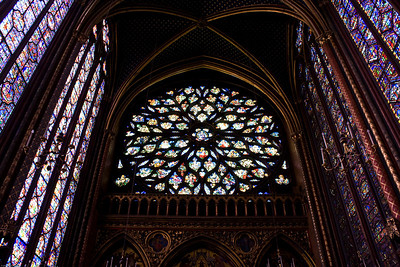 Stained Glass at the Sainte Chapelle-2
