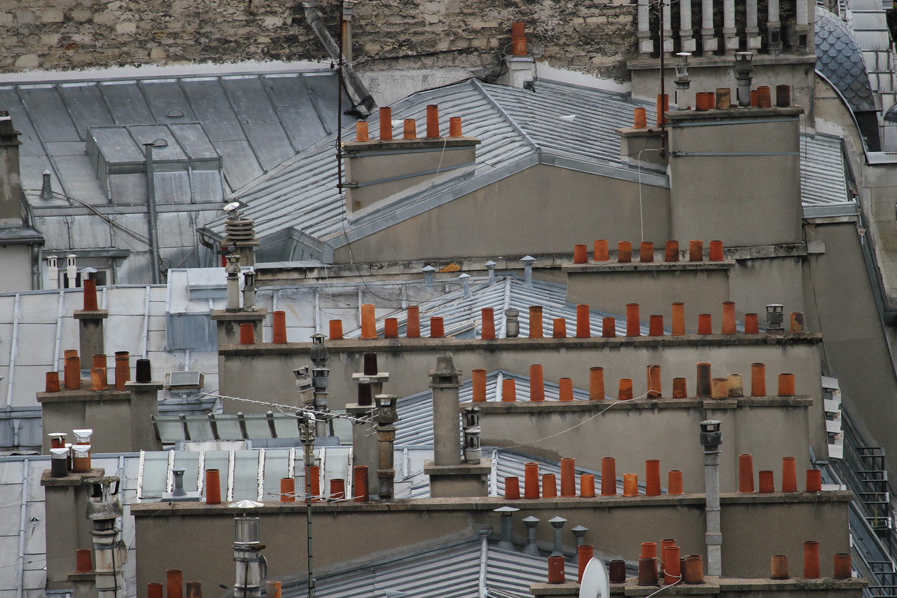 Chimneys of Paris.
