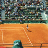French Open '97: Martina Hingis, Court Suzanne Lenglen