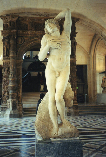 Dying Slave by Michelangelo, Louvre