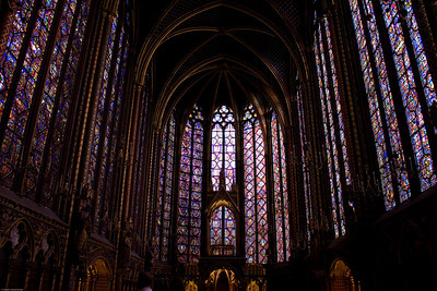 Stained Glass at the Sainte Chapelle