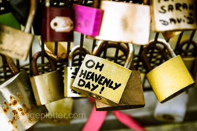 Oh Heavenly Day, Padlock, Pont Des Arts, Paris
