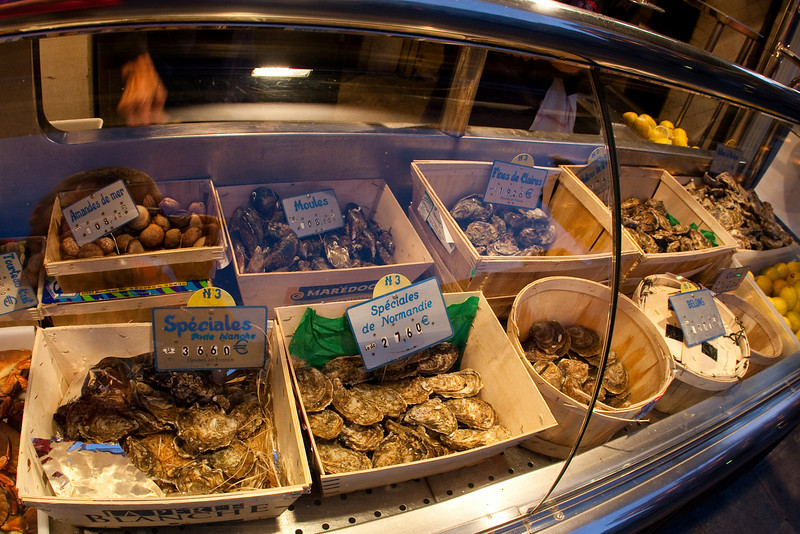 Oysters and clams for sale!