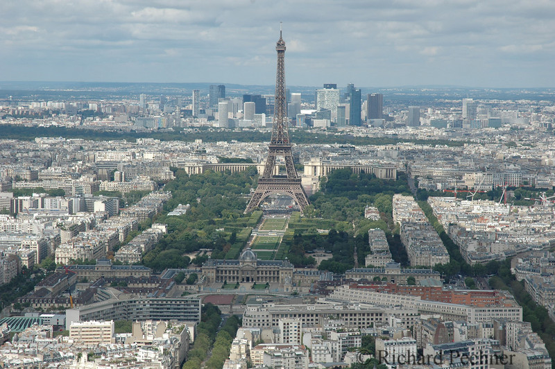 La Tour Eiffel from the top of Montparnasse