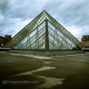 Entrance to the Louvre, Paris