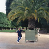 Me at Jardin du Luxembourg. The palm tree was making me homesick for Florida!