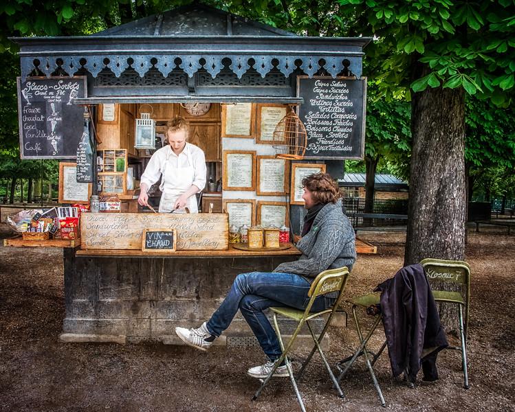 ~Creperie~<br /> <br /> Jardin du Luxembourg<br /> Paris, France
