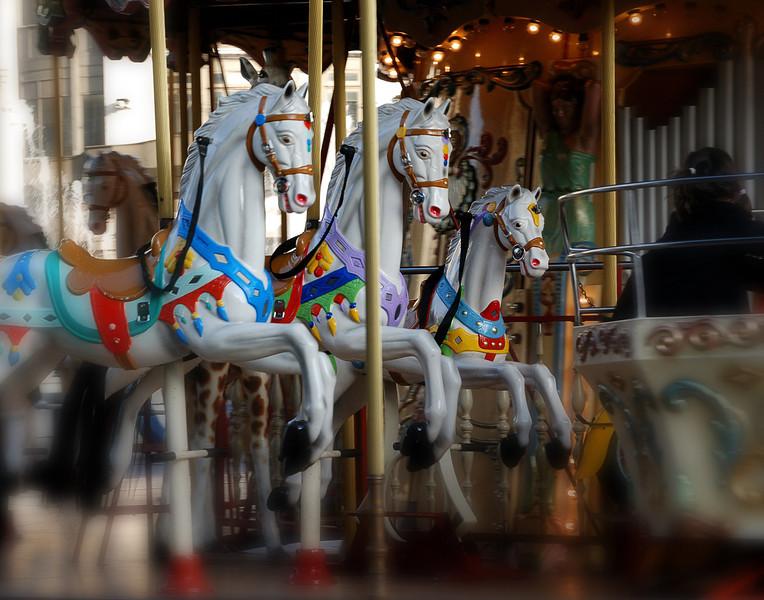 Carousel at l'Hotel de Ville - Paris