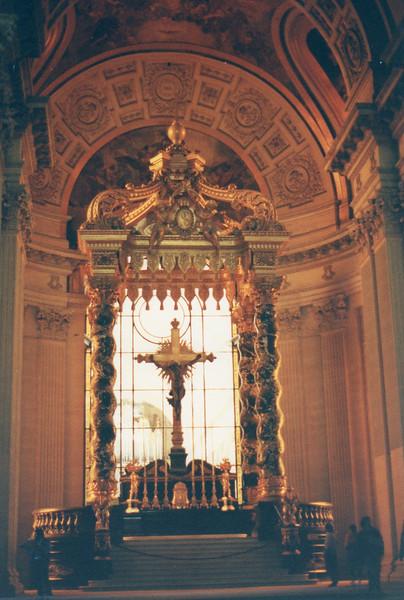 Chapelle at Les Invalides