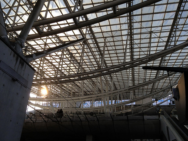 Charles de Gaulle Train Station (iPhone 4S)