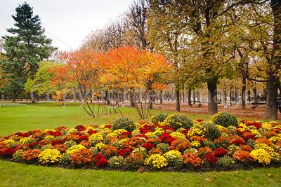 Fall in the Jardin du Luxembourg