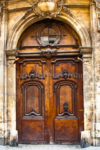 A doorway in the Marais