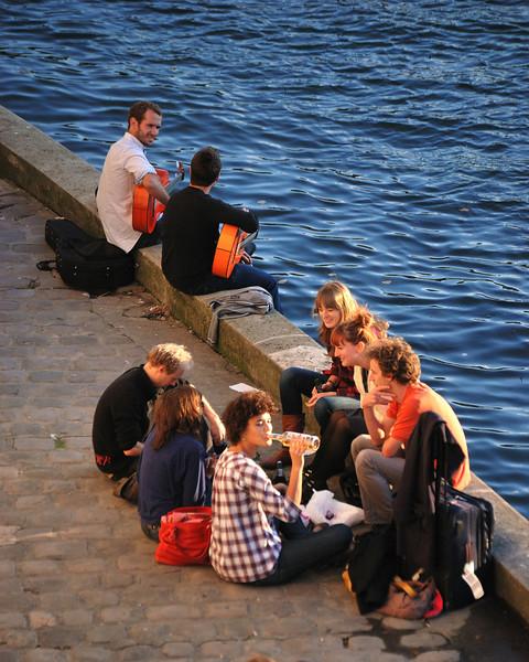 La Seine in the Afternoon