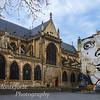 Old church near the Pompidou center