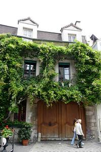 Maison verte