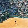 French Open '97: Michael Chang, Court Suzanne Lenglen