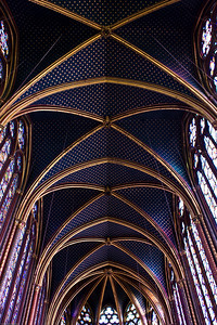 Roof at the Sainte Chapelle