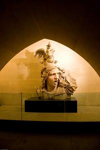 Artwork inside the Arc de Triomphe