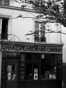 Shakespeare and Company. Paris, France.