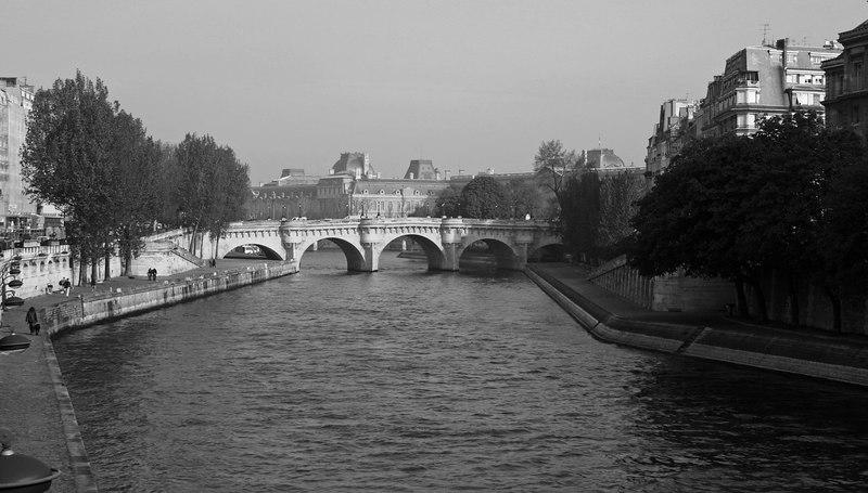 Romantic Seine, Paris