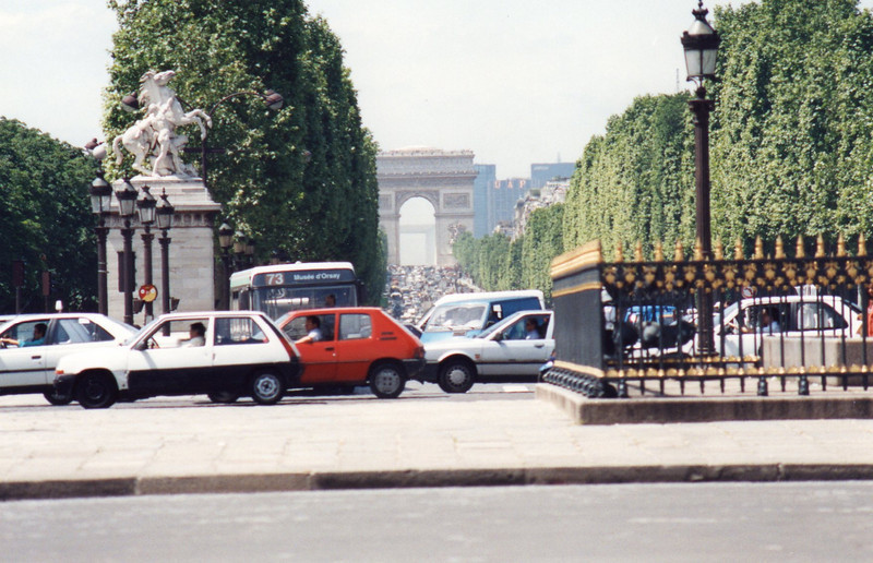 Champs Elysee from Place de la Concorde