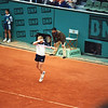 French Open '95: Boris Becker, Court A (now called Court Suzanne Lenglen)