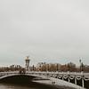 Pont Alexandre III on the Seine river, Paris