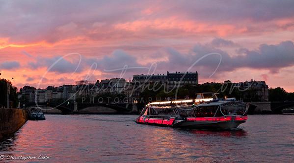 Seine Tour Boat