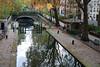 Canal St Martin Lock - Paris