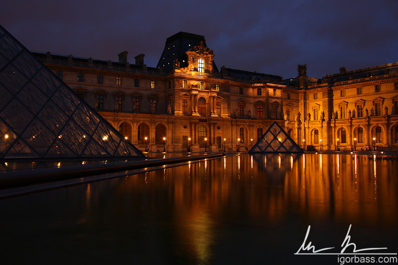 Louvre Pyramids (Paris, FR)