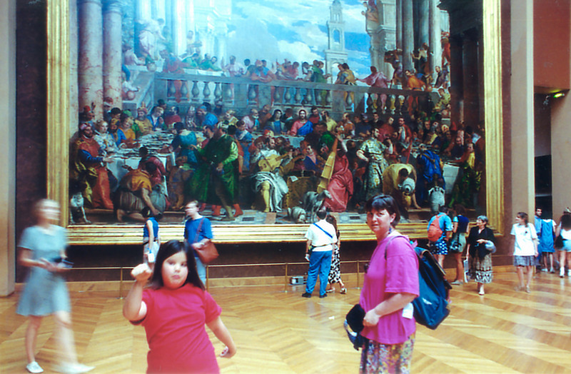 The Wedding at Cana Le Louvre Paris France - Jul 1996