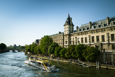 Seine River Bank, Paris