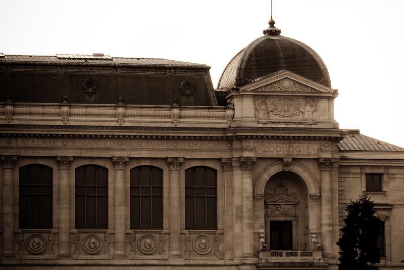 Grande galerie de l'évolution, Jardin des Plantes