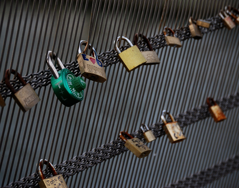Love Locks over the Seine