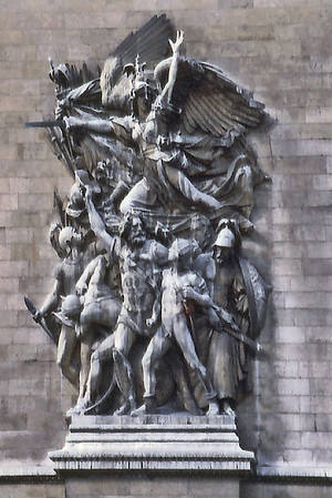 La Marseillaise Arc de Triomphe Paris France - Oct 1978
