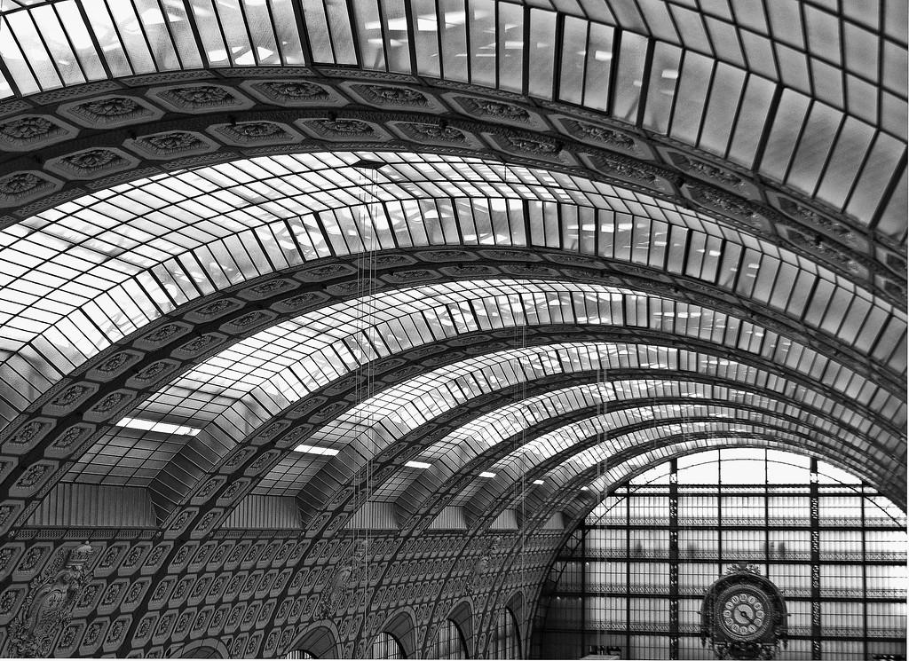 Musee D'Orsay BW