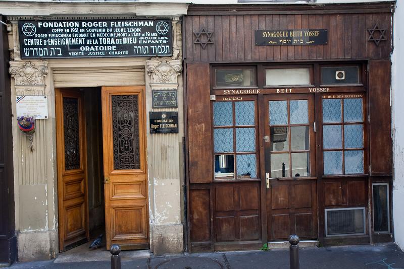 Fondation Roger Fleischman / Synagogue Beit Yossef, Le Marais