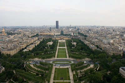 Eiffel Tower - view from the top