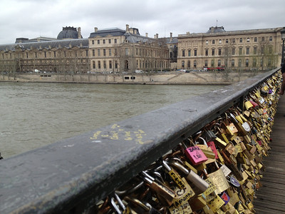 Locks on the Seine