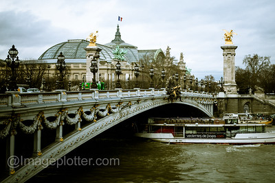 Pont Alexandre III with the Grand Palais in the Background, Paris