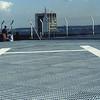 The helicopter pad atop the Grande Arche de la Defense